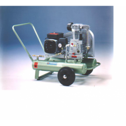 Mobiele compressor V-snaar...