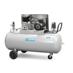 Mobiele compressor 387/200l